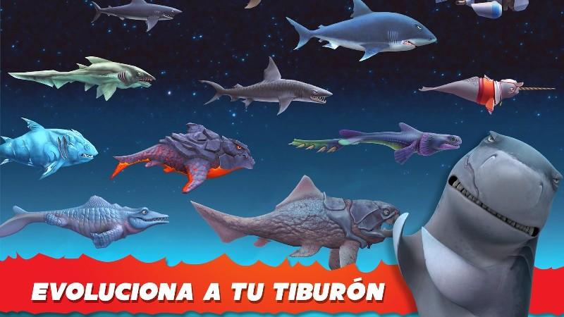 Hungry Shark Evolution APK MOD imagen 2