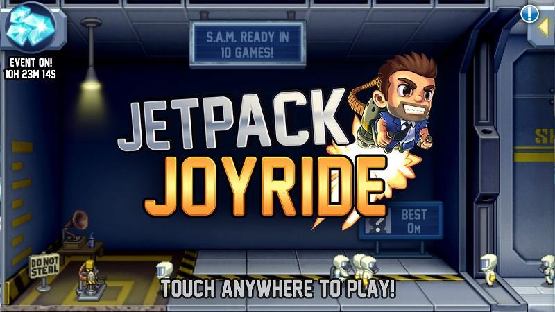 Jetpack Joyride APK MOD imagen 5