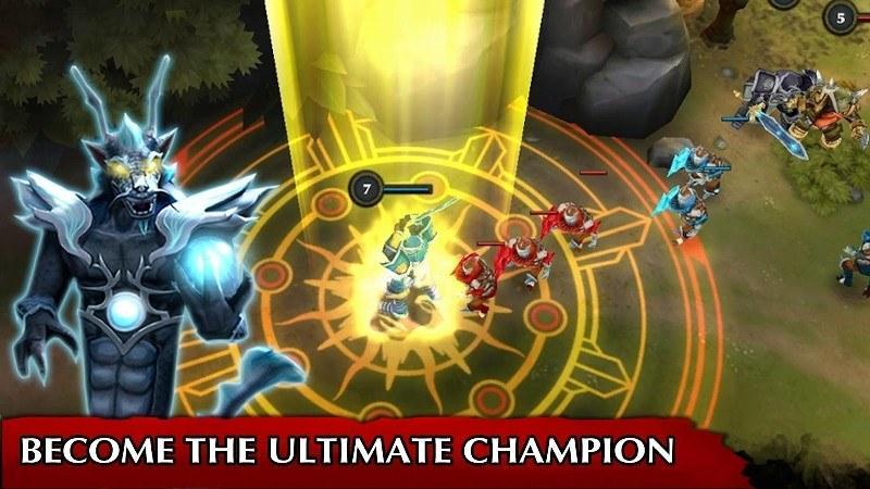 Legendary Heroes MOBA APK MOD imagen 1