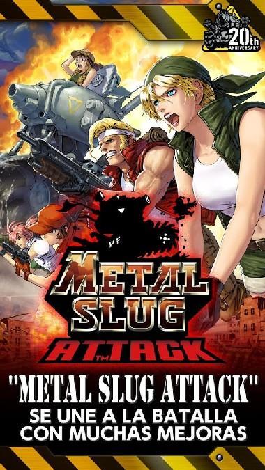 METAL SLUG ATTACK APK MOD imagen 1