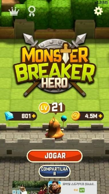 Monster Breaker Hero APK MOD imagen 1