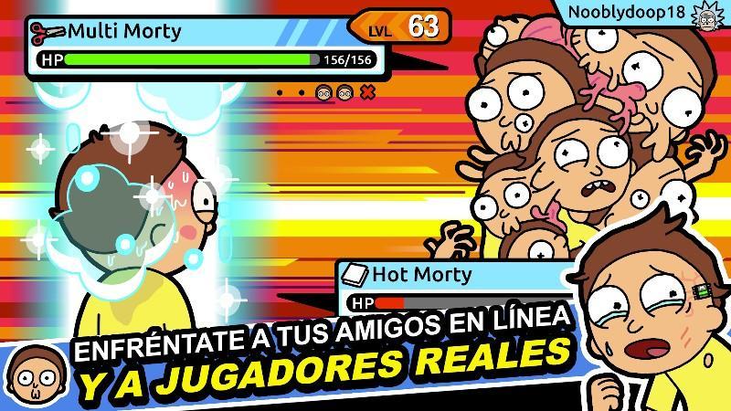 Pocket Mortys APK MOD imagen 2