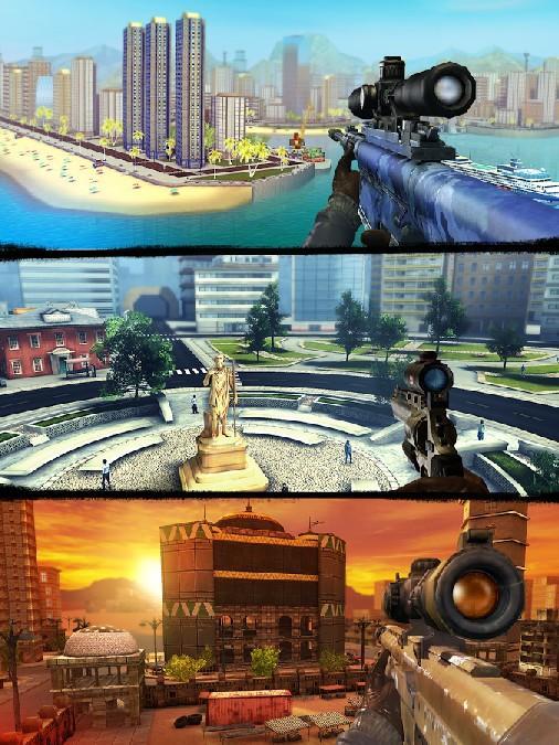Sniper 3D Assassin Gun Shooter APK MOD imagen 3