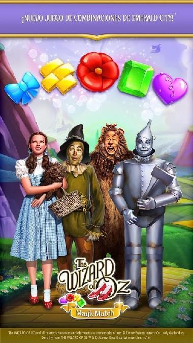 The Wizard of Oz Magic Match 3 APK MOD imagen 1