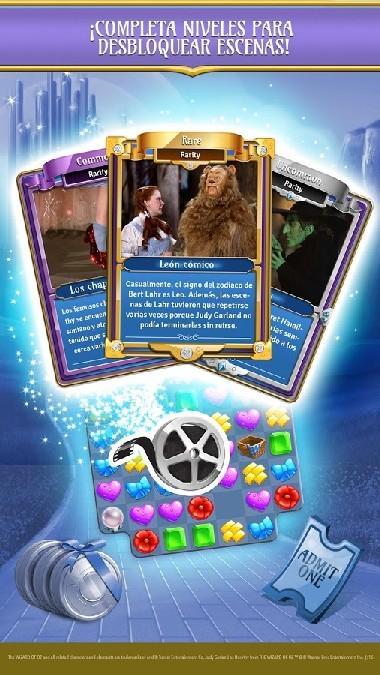 The Wizard of Oz Magic Match 3 APK MOD imagen 4