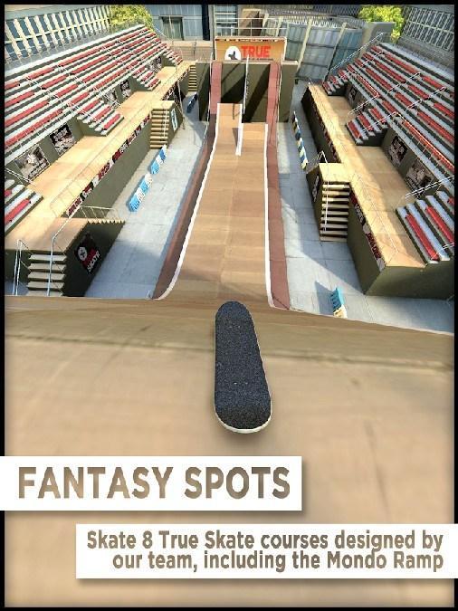 True Skate APK MOD imagen 1