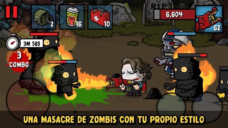 Zombie Age 3 APK MOD imagen 2