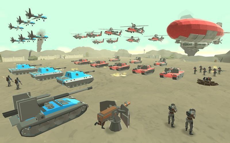 Army Battle Simulator APK MOD imagen 1