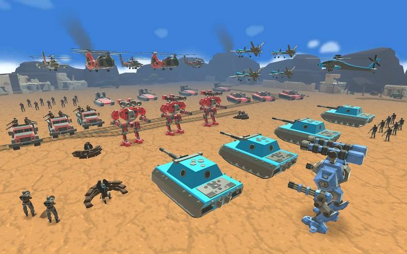 Army Battle Simulator APK MOD imagen 3