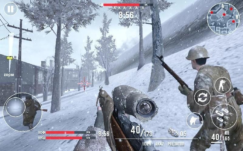 Call of Sniper WW2 Final Battleground APK MOD imagen 1