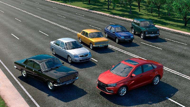 Driving Zone: Russia APK MOD imagen 1