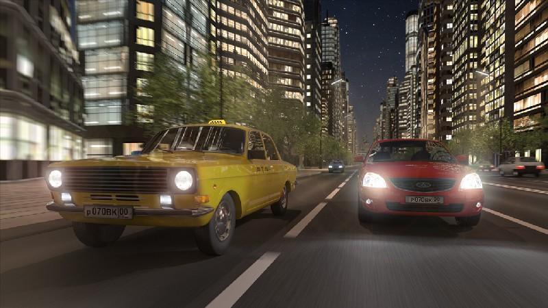 Driving Zone: Russia APK MOD imagen 4