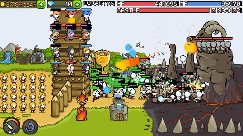 Grow Castle APK MOD imagen 1