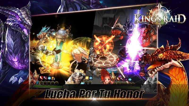 King's Raid APK MOD imagen 4