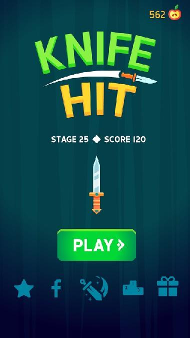Knife Hit APK MOD imagen 4