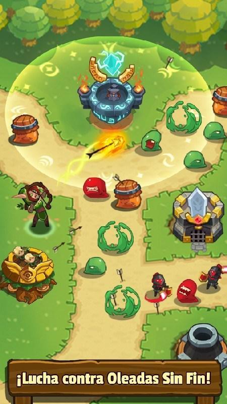 Realm Defense Hero Legends TD APK MOD imagen 1
