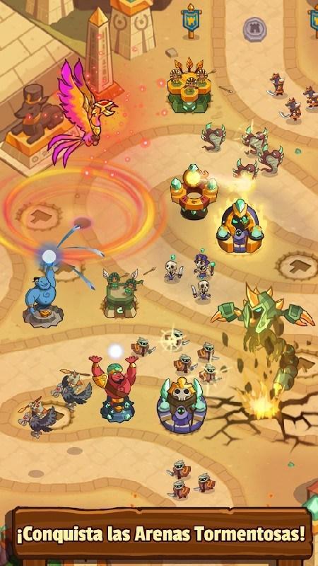 Realm Defense Hero Legends TD APK MOD imagen 3