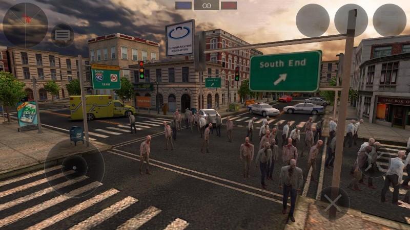 Zombie Combat Simulator APK MOD imagen 3