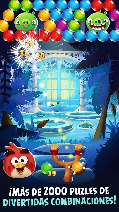 Angry Birds POP Bubble Shooter APK MOD imagen 1