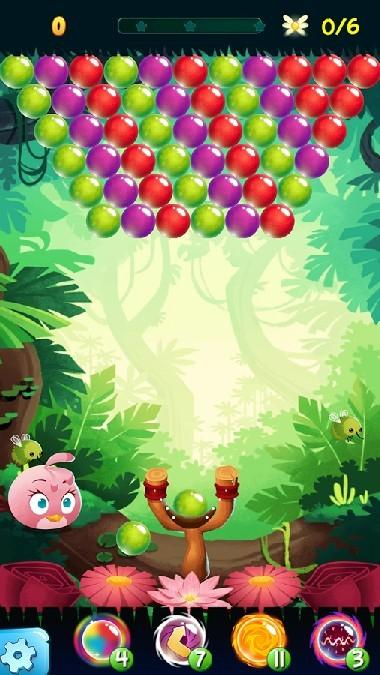 Angry Birds POP Bubble Shooter APK MOD imagen 2
