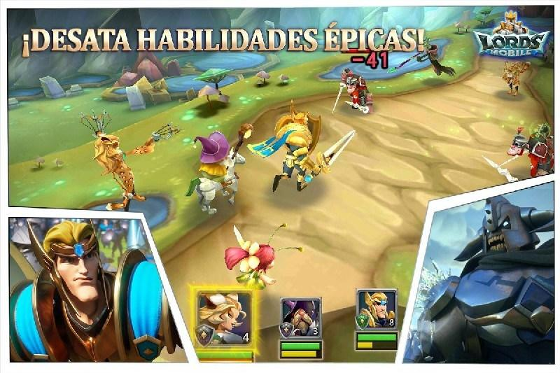 Lords Mobile APK MOD imagen 4