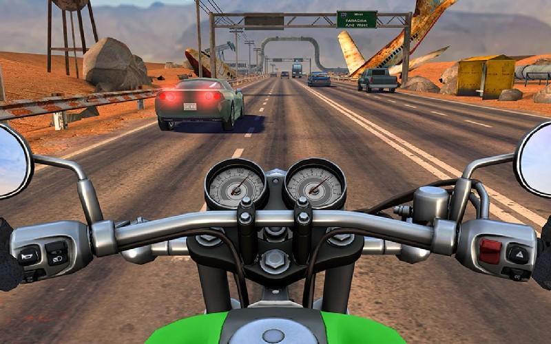 Moto Rider GO Highway Traffic APK MOD imagen 1
