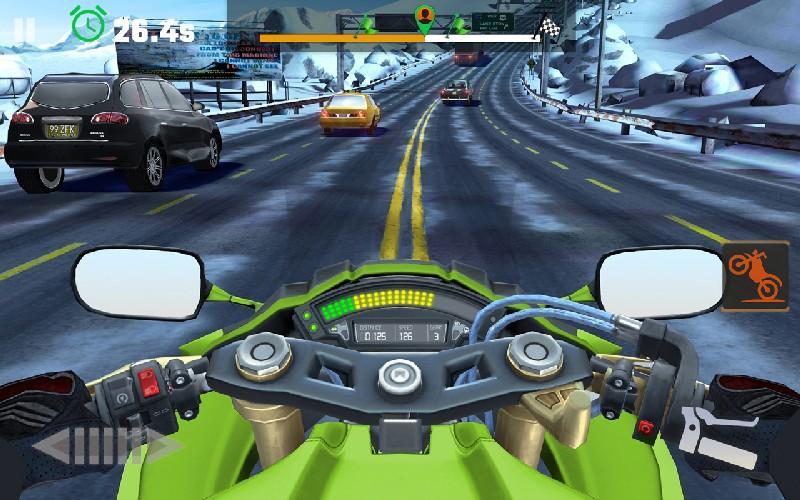 Moto Rider GO Highway Traffic APK MOD imagen 2
