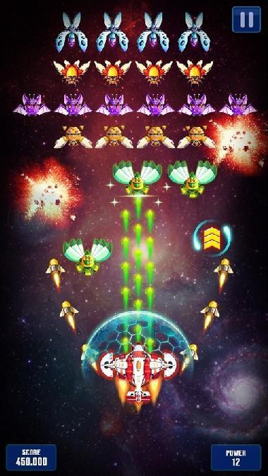 Space Shooter Galaxy Attack APK MOD imagen 1