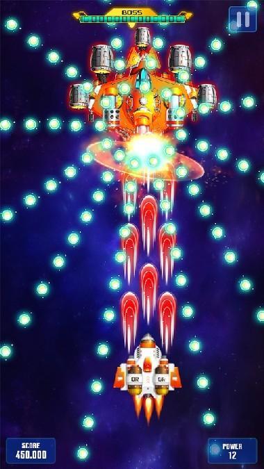 Space Shooter Galaxy Attack APK MOD imagen 3