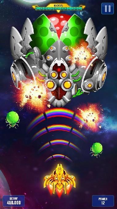 Space Shooter Galaxy Attack APK MOD imagen 4
