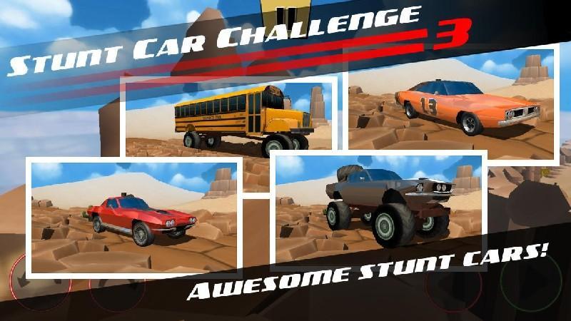 Stunt Car Challenge 3 APK MOD imagen 4