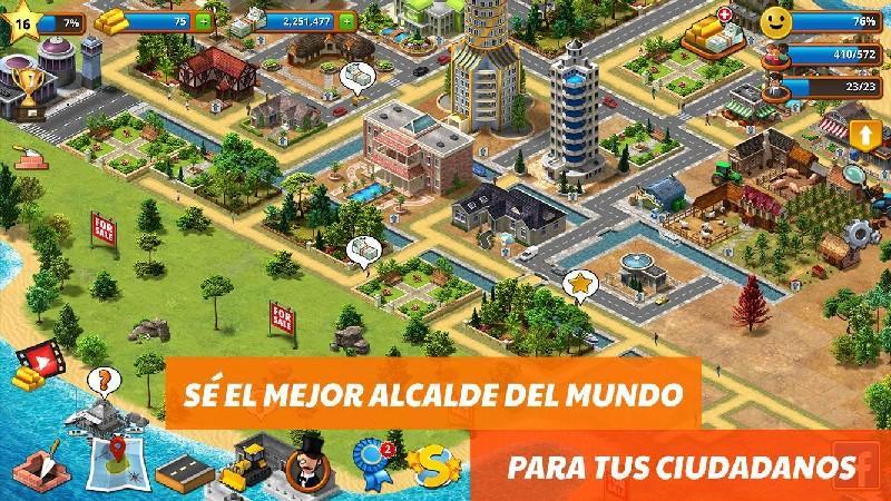 Tropic Paradise Sim Town Building City Island Bay APK MOD imagen 2