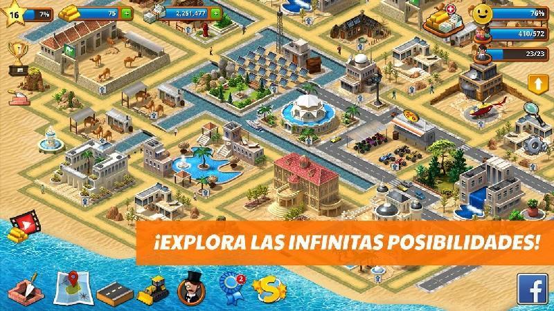 Tropic Paradise Sim Town Building City Island Bay APK MOD imagen 3