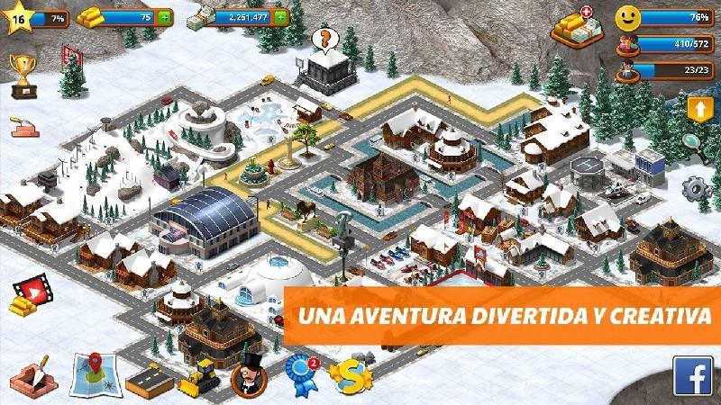 Tropic Paradise Sim Town Building City Island Bay APK MOD imagen 4