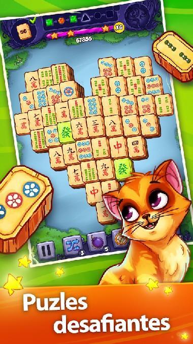 Mahjong Treasure Quest APK MOD imagen 1