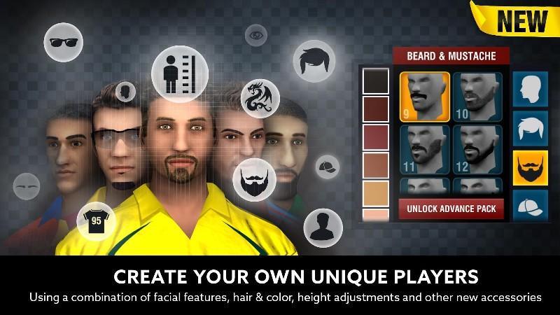 World Cricket Championship 2 APK MOD imagen 2