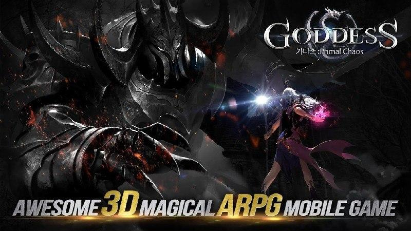 Goddess Primal Chaos - SEA Free 3D Action MMORPG APK MOD imagen 1