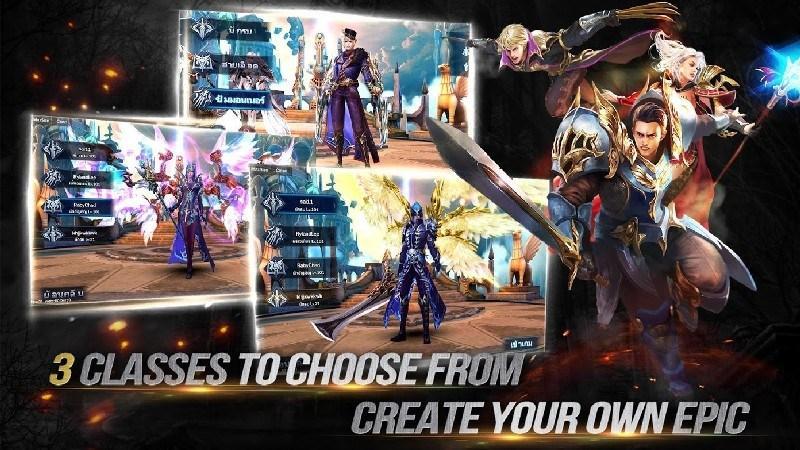 Goddess Primal Chaos - SEA Free 3D Action MMORPG APK MOD imagen 2