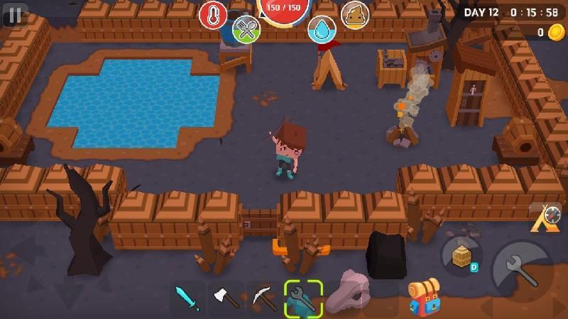 Mine Survival APK MOD imagen 4