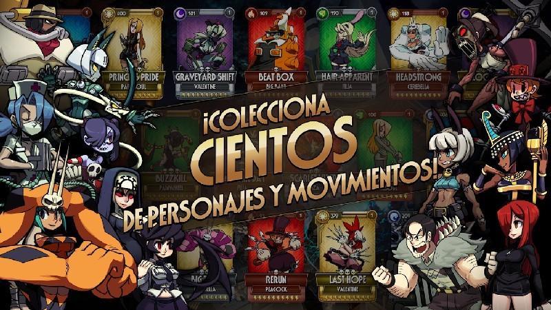 Skullgirls APK MOD imagen 3