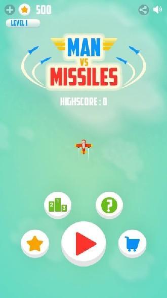 Man Vs. Missiles APK MOD imagen 1