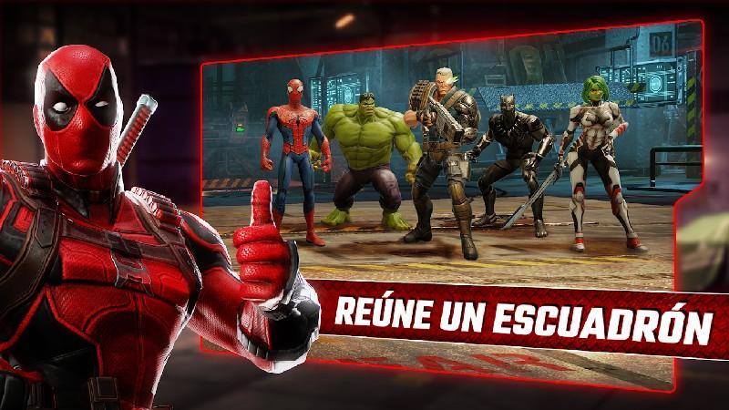 Marvel Strike Force APK MOD imagen 1