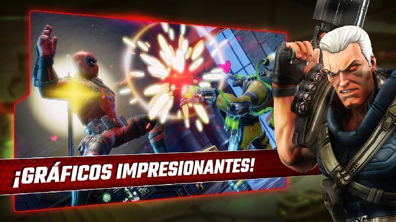 Marvel Strike Force APK MOD imagen 2