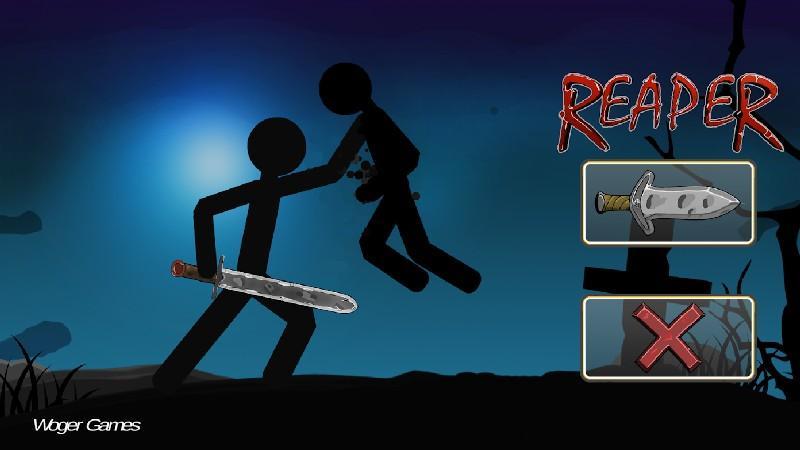 Stickman Reaper APK MOD imagen 1