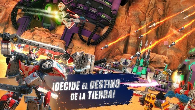 TRANSFORMERS Earth Wars APK MOD imagen 1