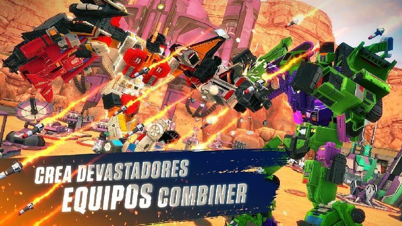 TRANSFORMERS Earth Wars APK MOD imagen 4