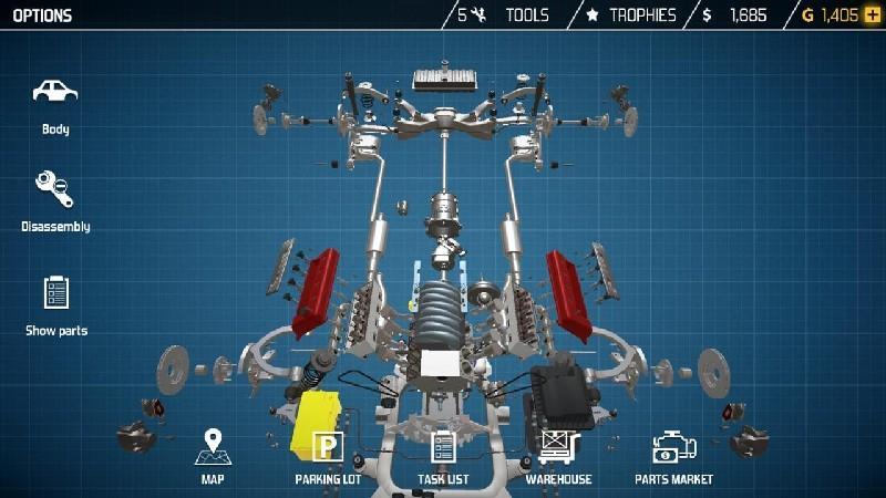 Car Mechanic Simulator 18 APK MOD imagen 4