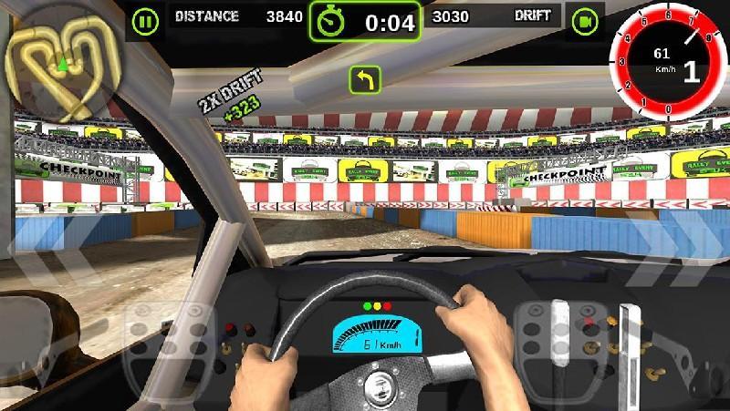 Rally Racer Dirt APK MOD imagen 1