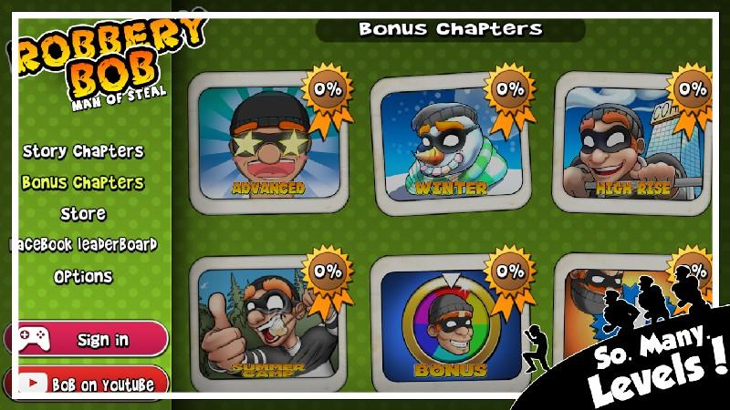 Robbery Bob APK MOD imagen 2