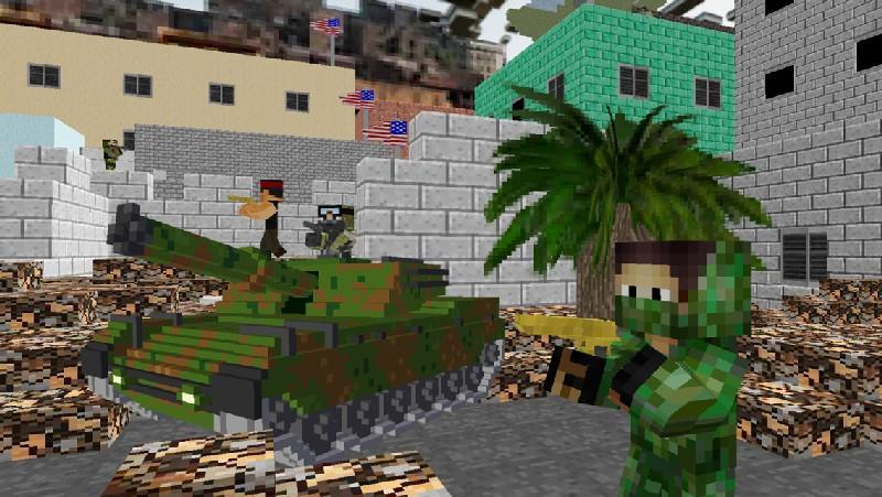 American Block Sniper Survival APK MOD imagen 2